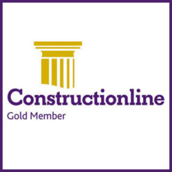 Construction-Line-Gold-Sqaure