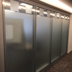 Intenal Glass Partition